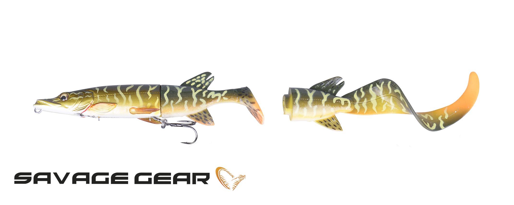 3D Hybrid Pike 25cm 130g