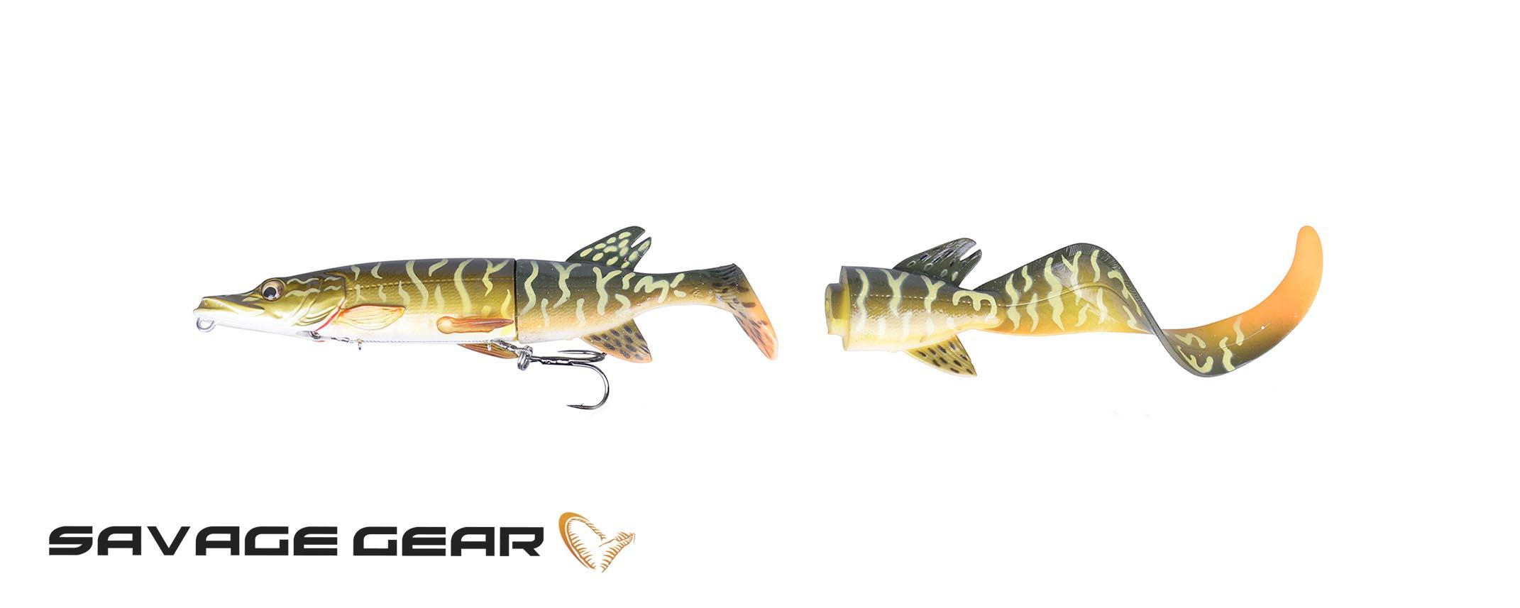 3D Hybrid Pike 17cm 45g
