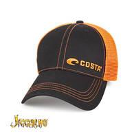 Costa Neon Trucker Black Twill Hat