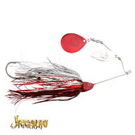 Savage Gear Da'bush Spinnerbait 42g #4 Red Silver Flash
