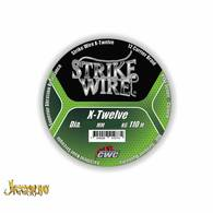 Strike Wire X12 0,38mm/39kg 110m mossgreen