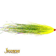 Bauer Pike Flies - Bauers UV Chartreuse