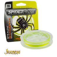 Spider Wire Stealth Smooth 0.17mm 15.8kg - 150m Yellow